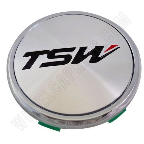 TSW Wheels Chrome Custom Wheel Center Cap # C-C43-1 (4 CAPS)