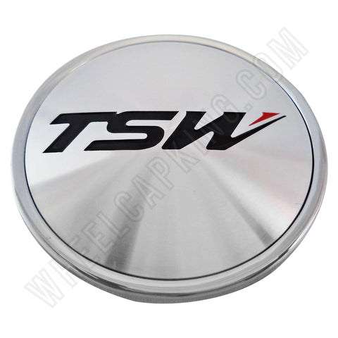 TSW Wheels Chrome Custom Wheel Center Cap # C-F82 (1 CAP)