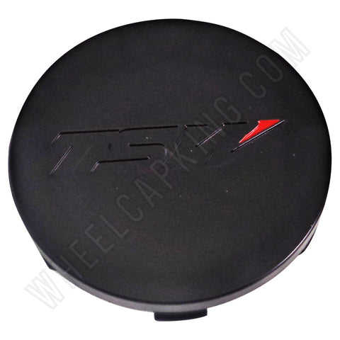 TSW Wheels Matte Black Custom Wheel Center Cap # PCC43-1 (1 CAP)