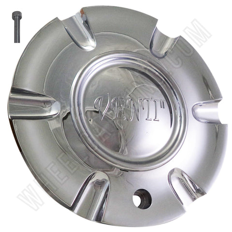 Venti Wheels Chrome Custom Wheel Center Cap# C-053-2 / S1050-NS02 (4 CAPS)