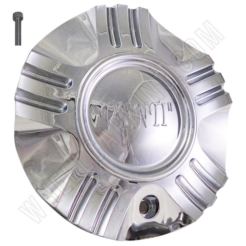 Venti Wheels Chrome Custom Wheel Center Caps # C-055-1-1 / S1050-NS01 (4 CAPS)