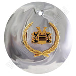Vogue Wheels Chrome Custom Wheel Center Cap # 10885 (4 CAPS)