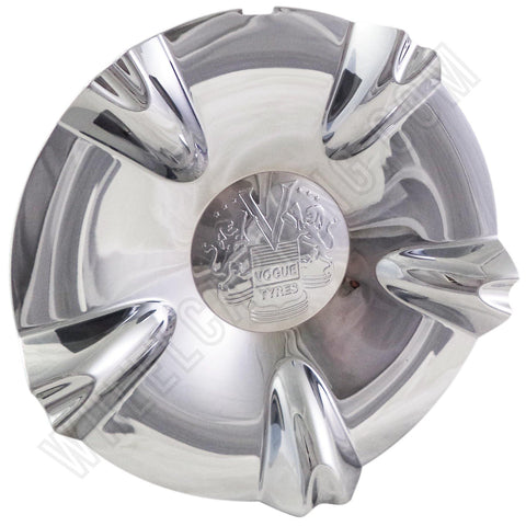 Vogue Wheels Chrome Custom Wheel Center Cap # F24-CAP(Vll) / HEDE (4 CAPS)