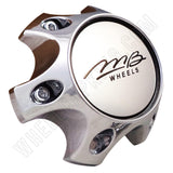 MB Motorsports Wheels Chrome Custom Wheel Center Cap # BC-788 (1 CAP)