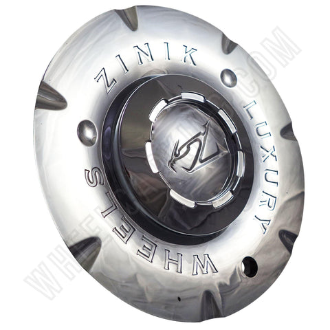Zinik Wheels Chrome Custom Wheel Center Cap Caps Set of 4 # D U E / SI-CAP-Z147 NEW!