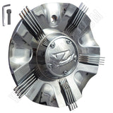 ZINIK Z-10 / CAP-Z087 Chrome Wheel Center Cap (1 CAP)