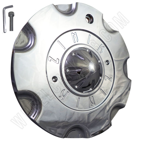 ZINIK Z-8 Chrome Wheel Center Cap (4 CAPS)