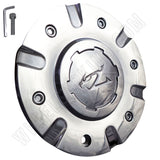 ZINIK Z-9 / CAP-Z090 Chrome Wheel Center Cap (4 CAPS) LARGE