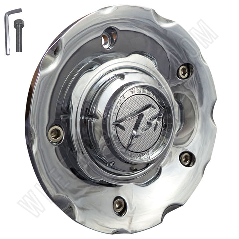 ZINIK Z-18 Chrome Wheel Center Cap (1 CAP)