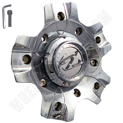 ZINIK MS-CAP-Z208 / Z21 Chrome Wheel Center Cap (1 CAP)