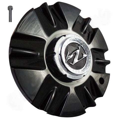 ZINIK Z-19 Gloss Black Wheel Center Cap (1 CAP)
