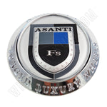 Asanti Wheels Chrome Custom Wheel Center Cap # C-100 / ASANTI-FS-CAP (1 CAP)