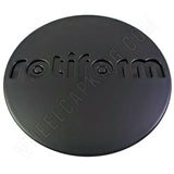 RotiForm Flat Black Custom Wheel Center Caps # 1003-40MB (1 CAP)