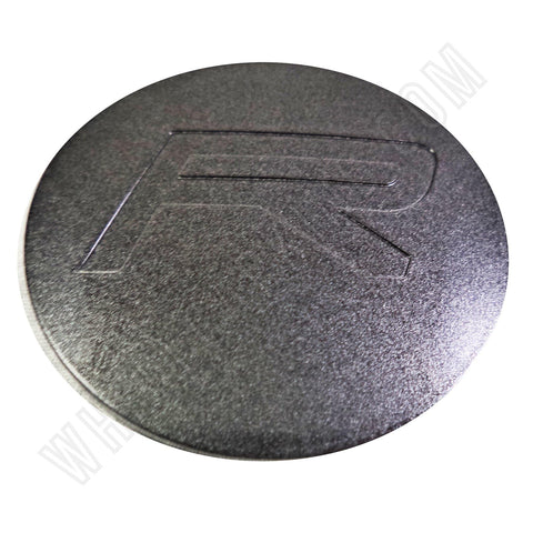 Rovos Wheels Flat Grey Custom Wheel Center Cap # SGM (4 CAPS)