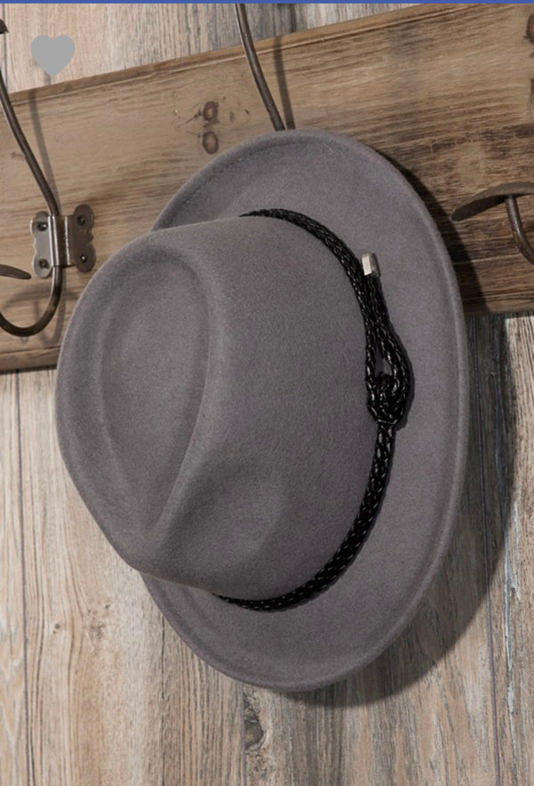 The Gray Mystery Fedora