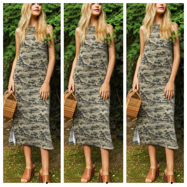 The GI Jane Camo Tank Dress