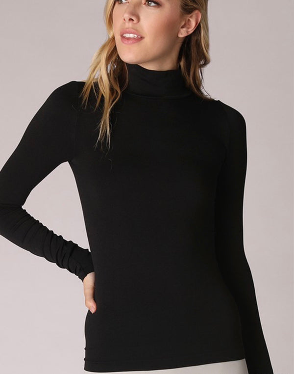 The Sleek Little Black Turtleneck