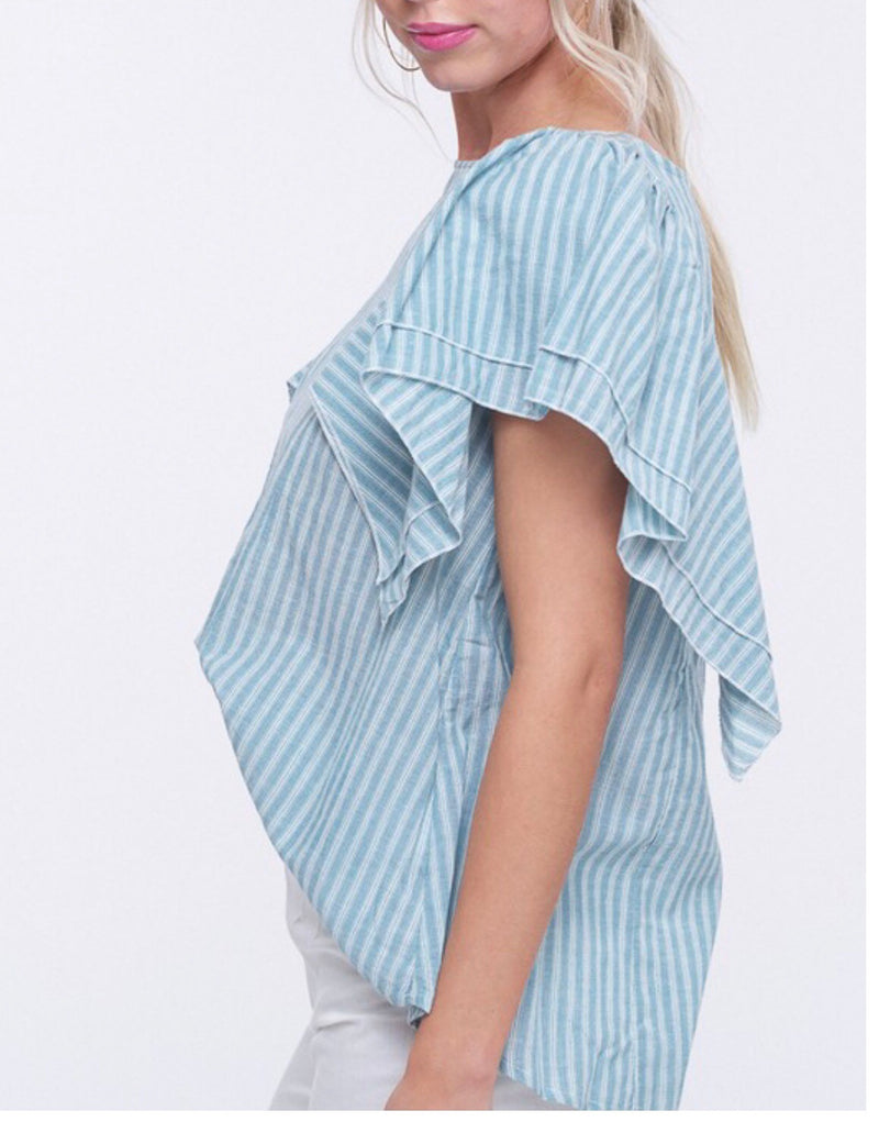 The Striped Samantha Top