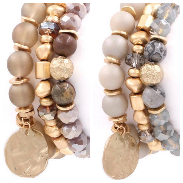 The Trevi Fountain Bracelet Stack