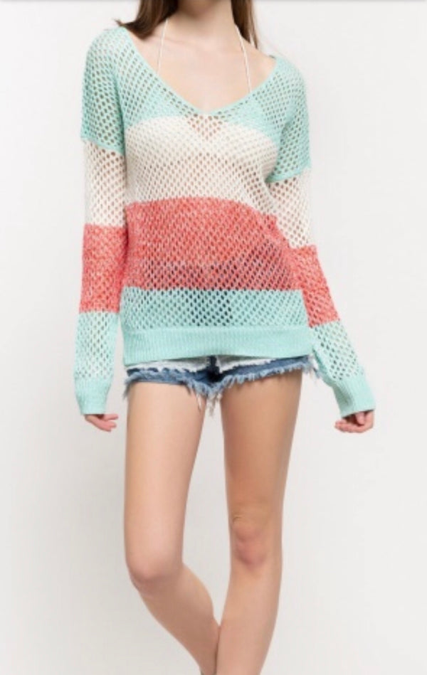 The Spring Feels Sweater