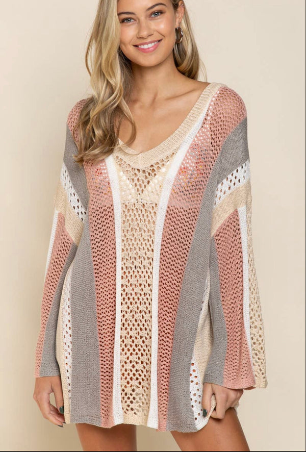 The Sunset Beach Summer Sweater