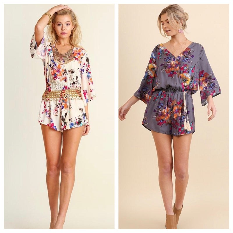 The Samantha Floral Romper