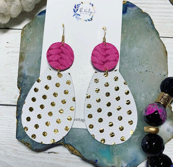 The Polka Dot Love Earrings