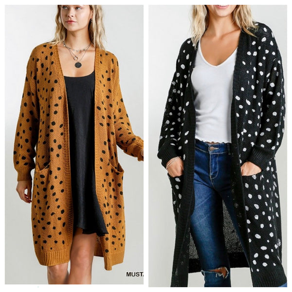 Dalmatian Done Right Cardi