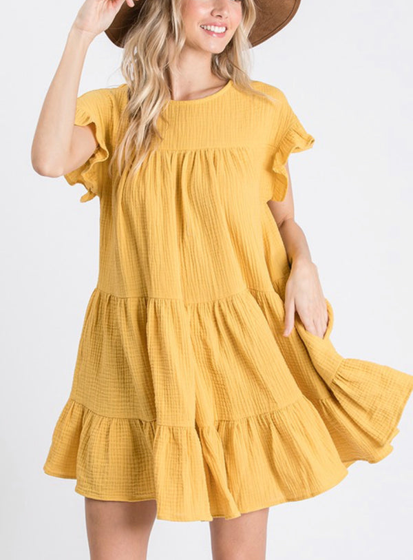 The Quepos Tiered Dress
