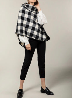 The Buffalo Sally Plaid Poncho