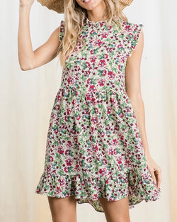The Bayside Floral Dress