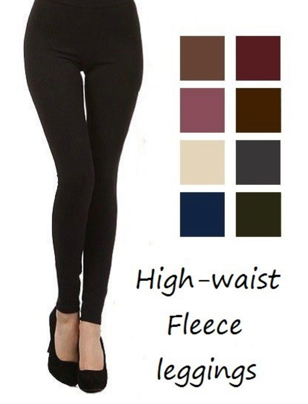 Waist Control Fleece Lined Leggings