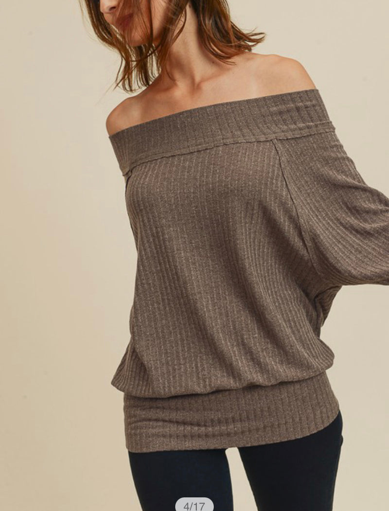 The Jessica Off the Shoulder Top