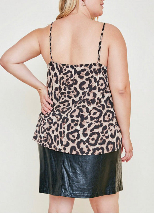 The Lizzy Leopard Tank Top