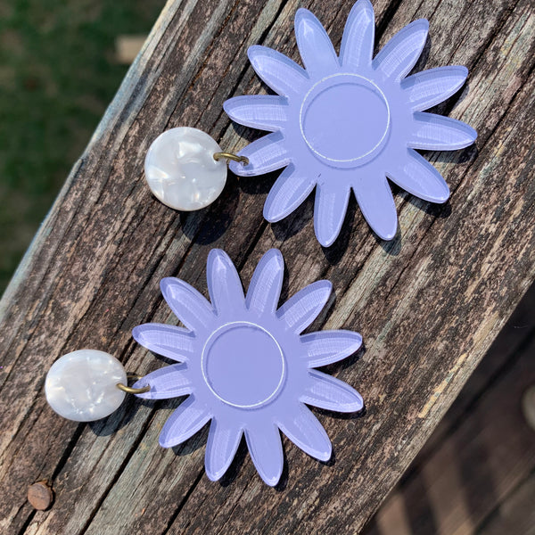 The Pushing Up Daisies Earrings