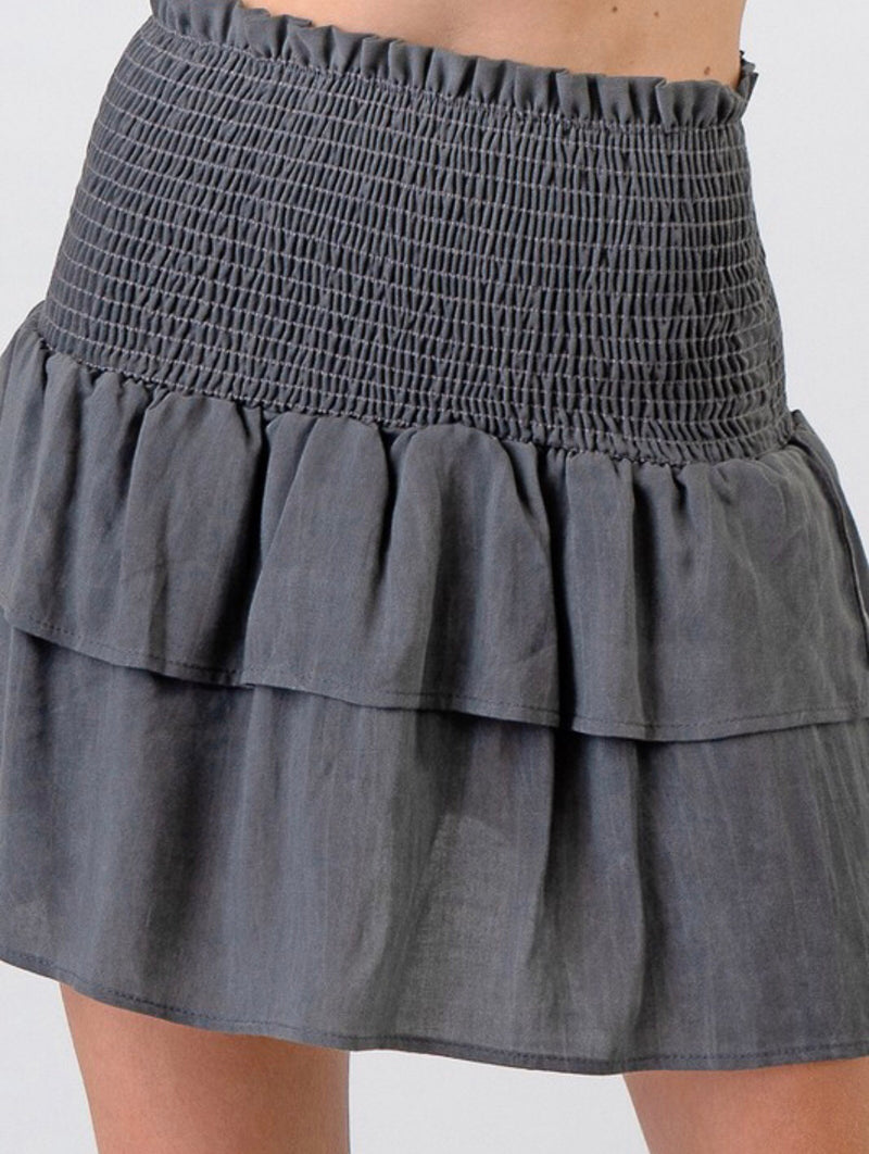 The Carlie Tiered Skirt