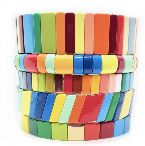 The Candy Crush Tile Bracelets