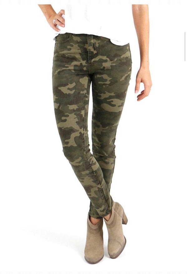 Grace & Lace Camo Leggings