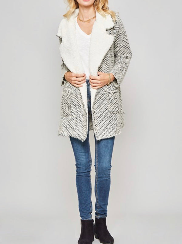 The Aspen Sweater Jacket