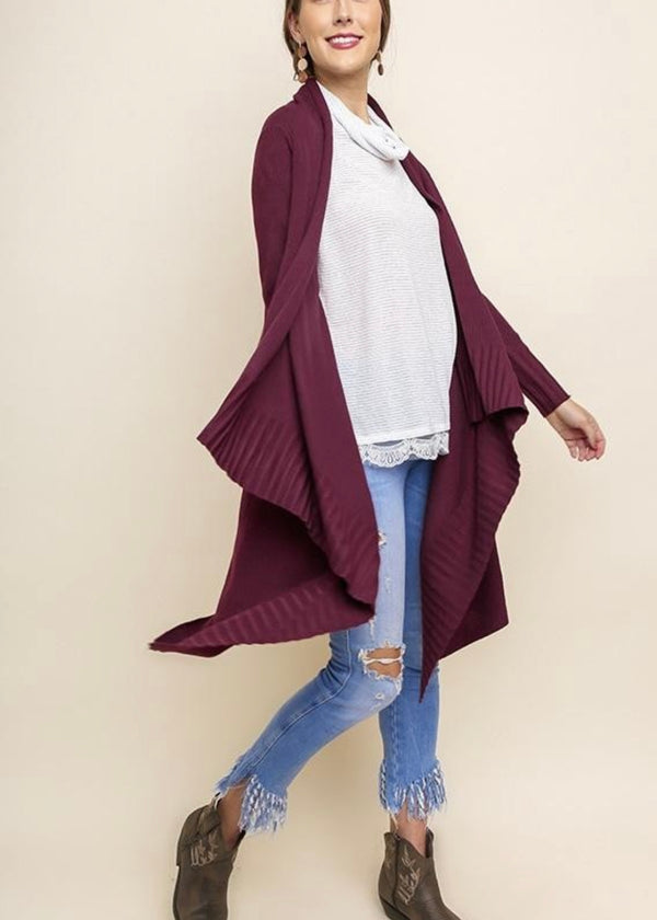 The Sonoma Swing Long Cardigan