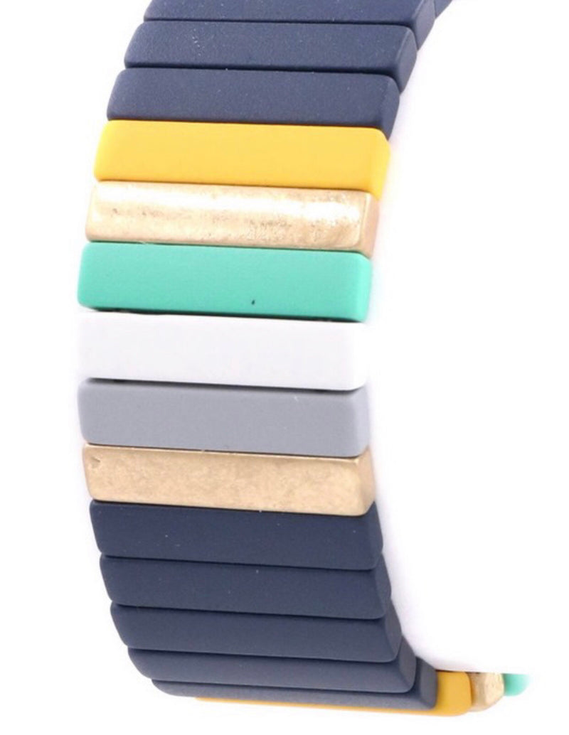 The Whitney Tile Bracelet Stack