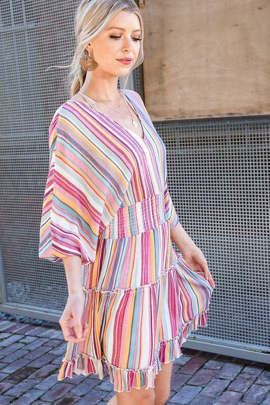 The Kristin Stripe Love Dress