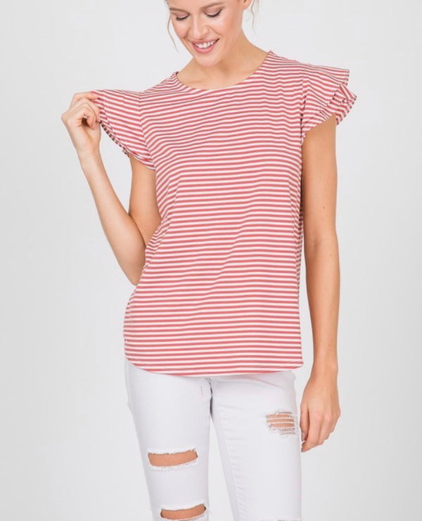 The Cape Coral Striped Top