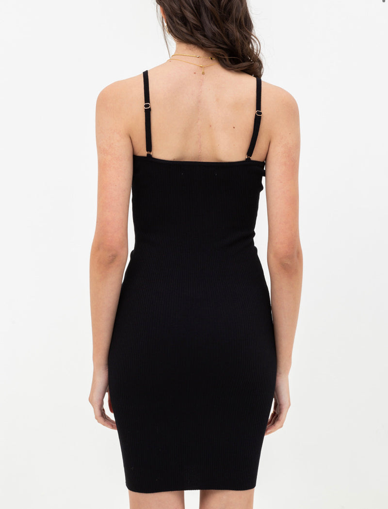 The Sleek Little Black Tank Dress
