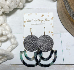 The Fly Me to the Moon Handmade Earrings