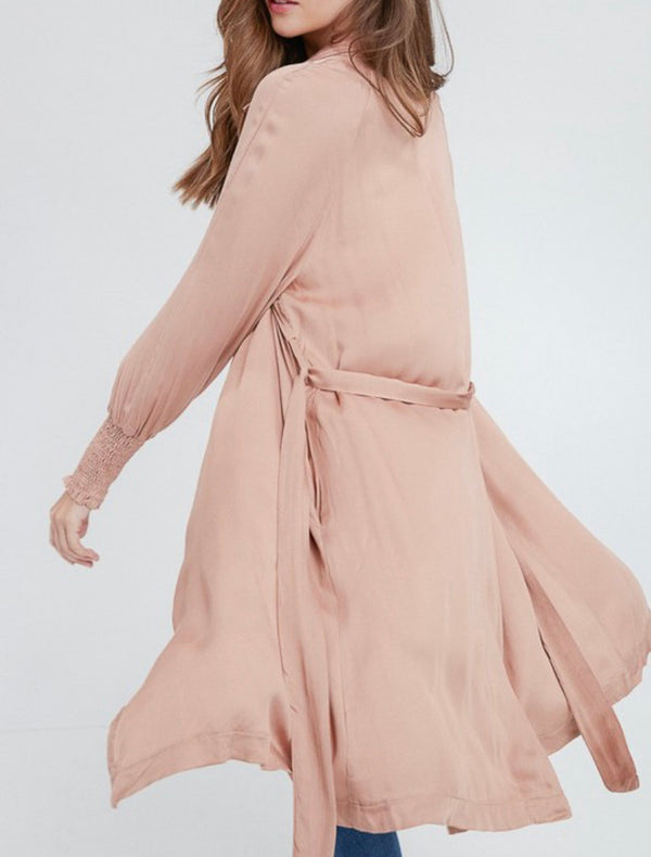 The Blushing Love Trench Coat
