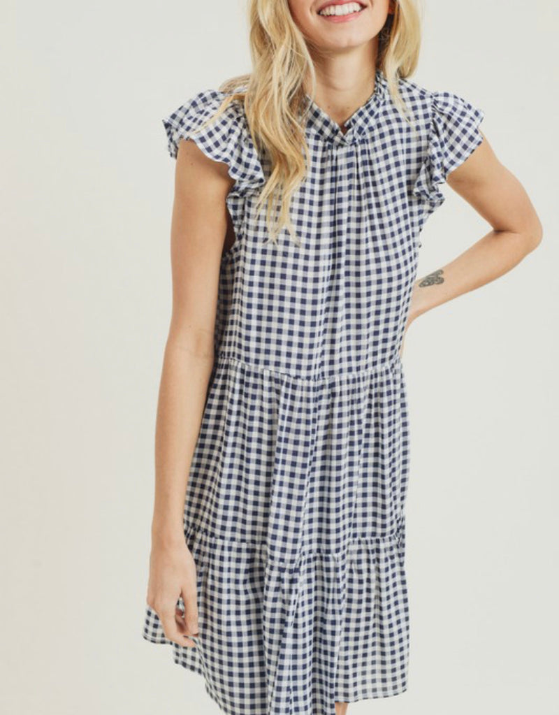 The Gingham Wonder  Dress