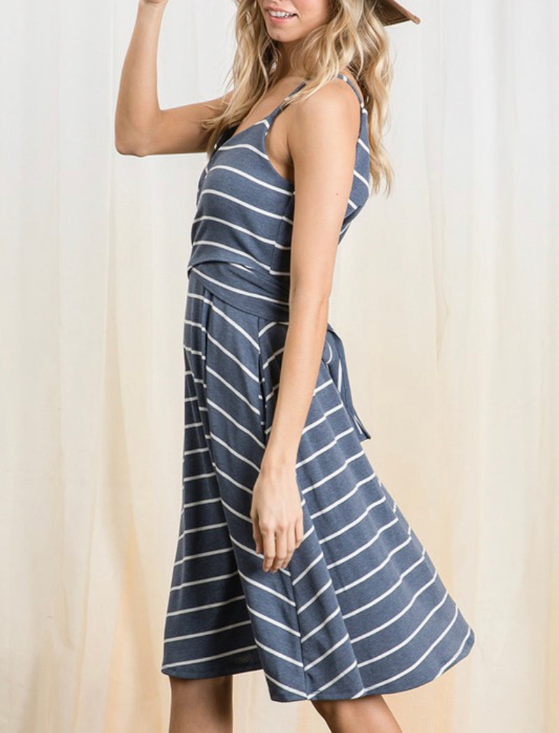 The Colleen Striped Dress