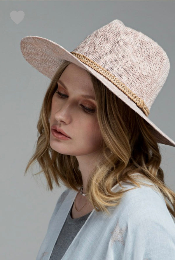 The Blush Love Summer Hat