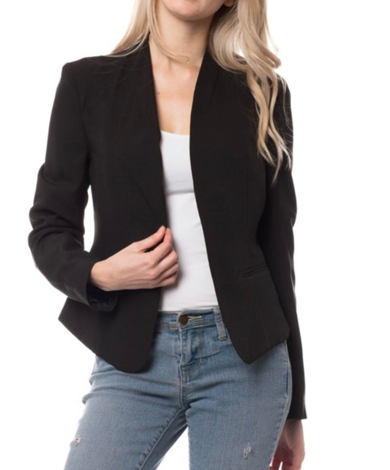 The Little Black Blazer